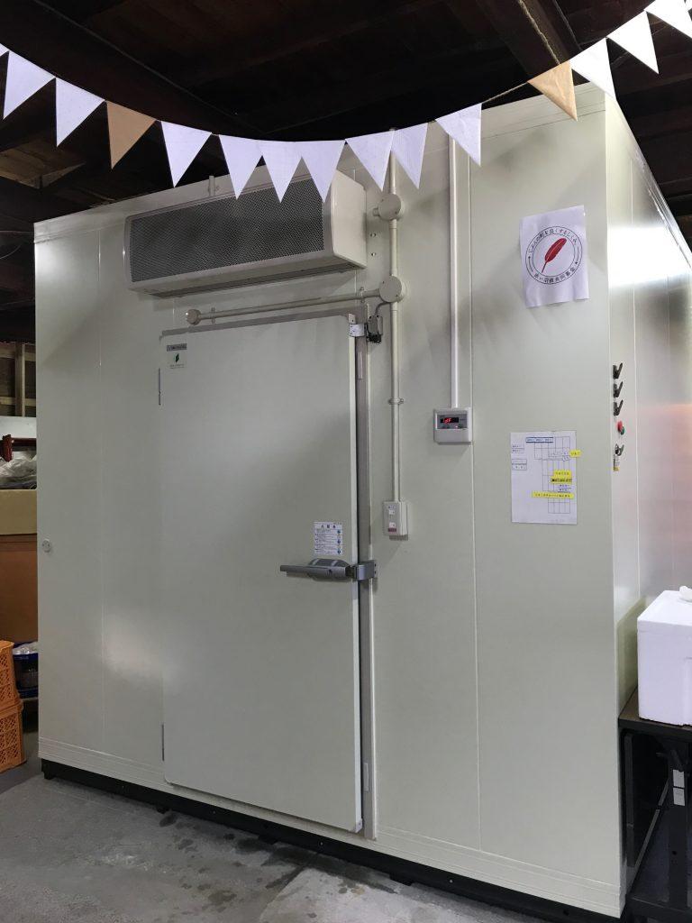フードバンク活動で大型冷凍庫が完成!
