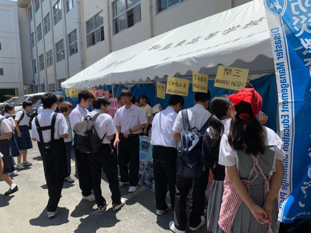 宇和島東高校文化祭参加してきました★